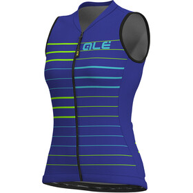 Alé Cycling Solid Ergo Sleeveless Jersey Men pure blue-turquoise